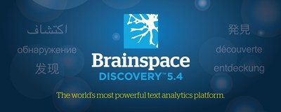 Brainspace Discovery(TM) 5.4 now delivers deeper, native support for foreign languages, including Brainspace's patented phrase detection for Chinese, Japanese, and Farsi. These enhancements ensure litigators, as well as government and enterprise investigators, are able to utilize Brainspace's powerful contextual discovery capabilities on a wide variety of international datasets.