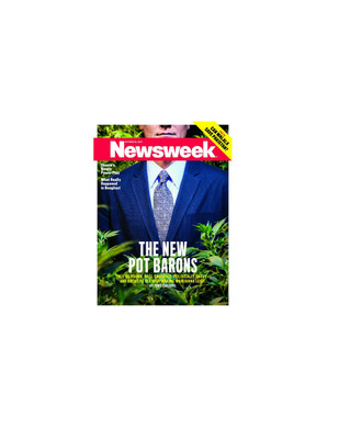 Newsweek Magazine Oct. 22, 2012.  (PRNewsFoto/Hemp, Inc.)