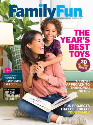 FamilyFun Magazine announces 24th annual, kid-tested Toy of the Year Awards with 20 gifts that inspire creativity, strategy, and imaginative play