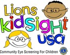 Lions KidSight USA. Community Eye Screening for Children (PRNewsFoto/Lions Clubs International)