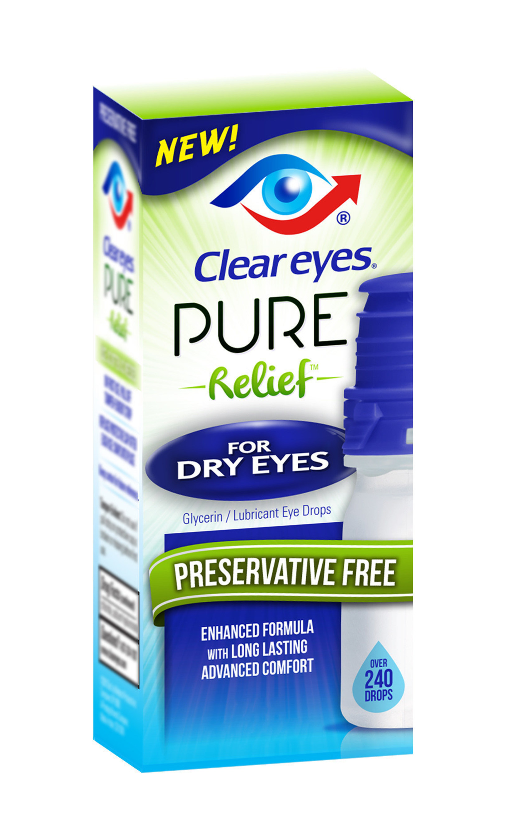 Clear Eyes(R) Pure Relief(TM) for Dry Eyes