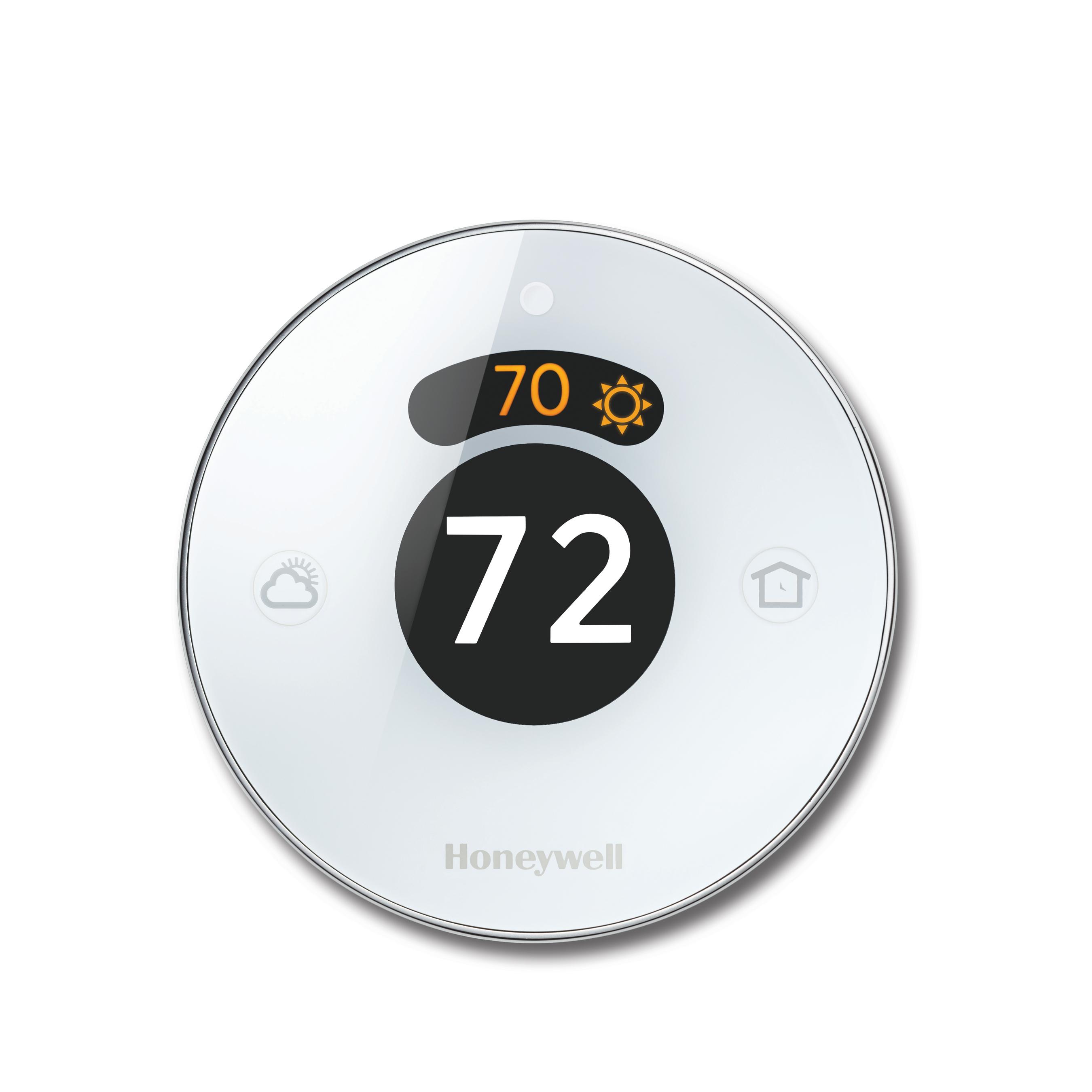 Honeywell's new, second generation Lyric Round Wi-Fi Thermostat