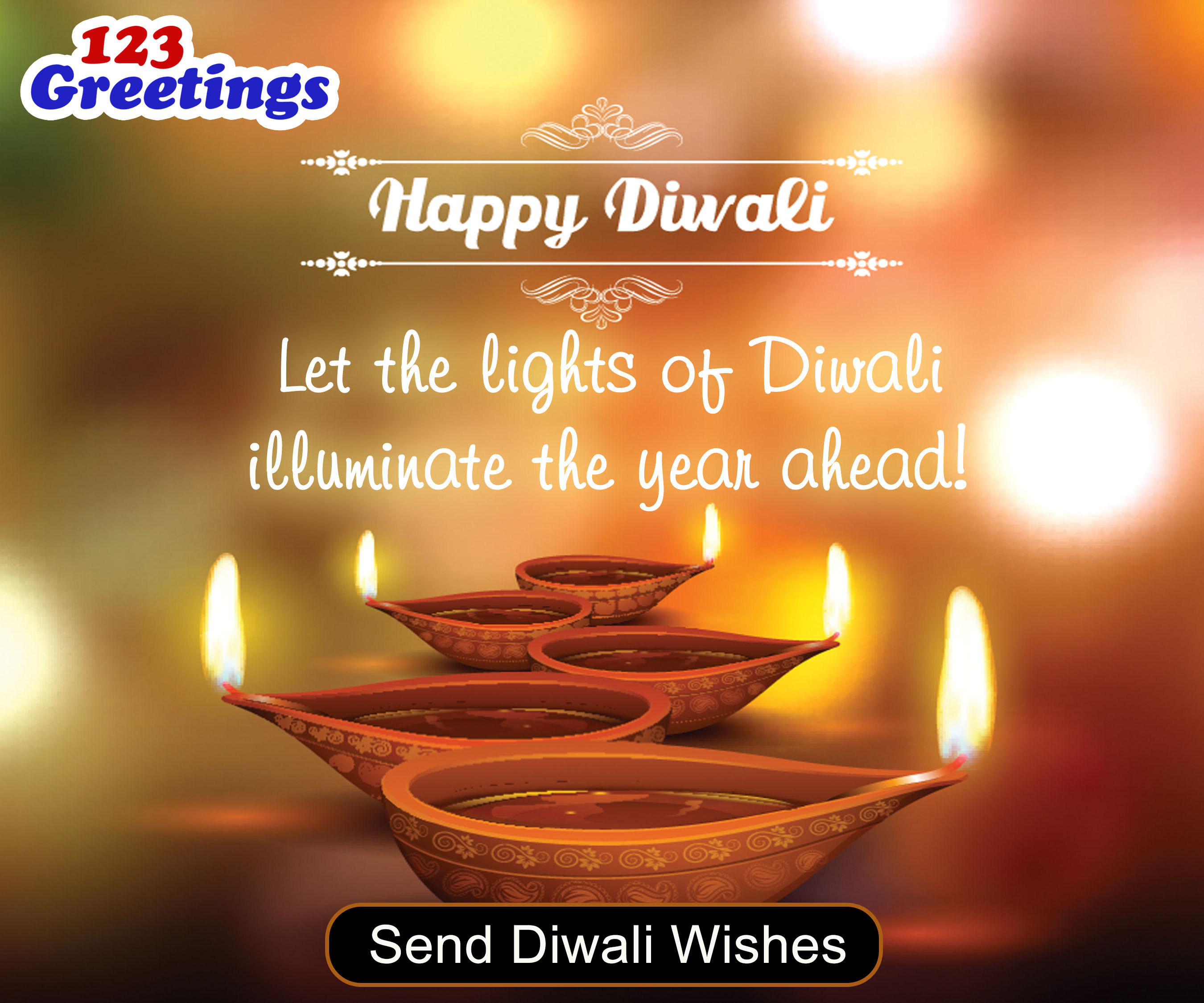 Light Up This Diwali With Ecards From 123greetings And