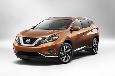 2015 Nissan Murano Debuts At 2014 New York International Auto Show