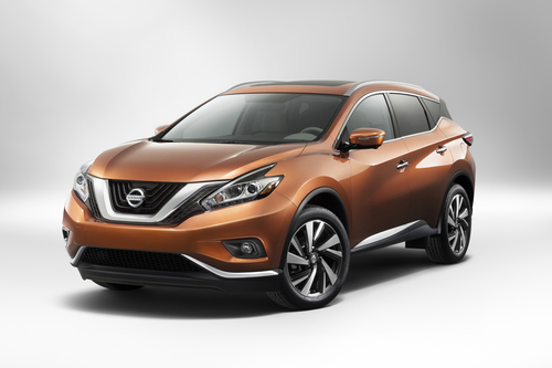 2015 Nissan Murano Debuts At 2014 New York International Auto Show (PRNewsFoto/Nissan North America)
