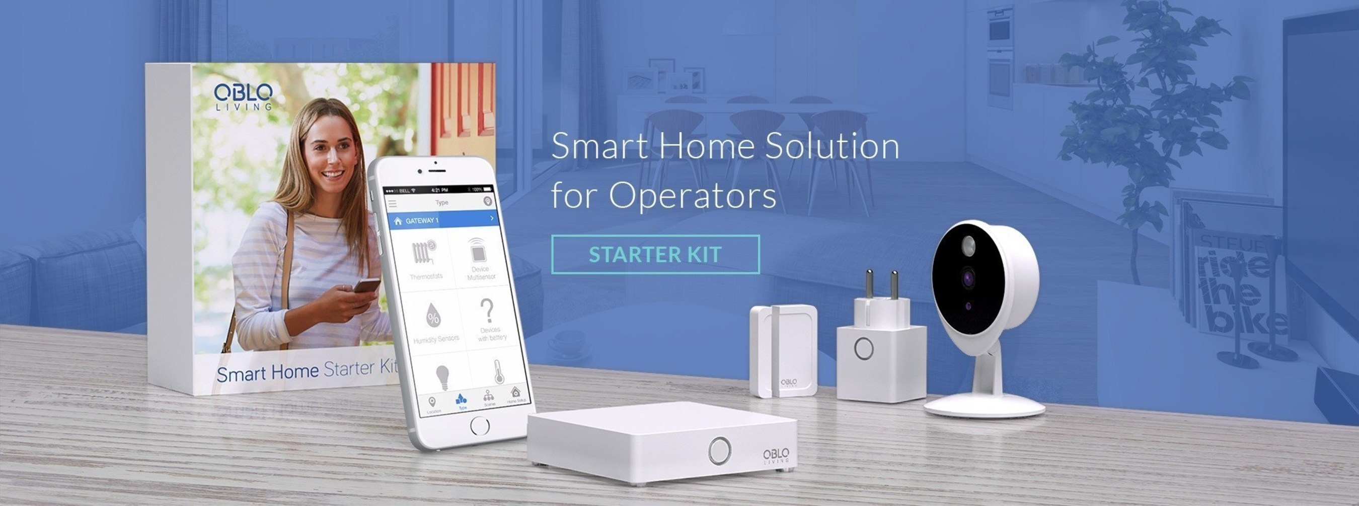 OBLO Living to present its Home Automation at IBC 2016