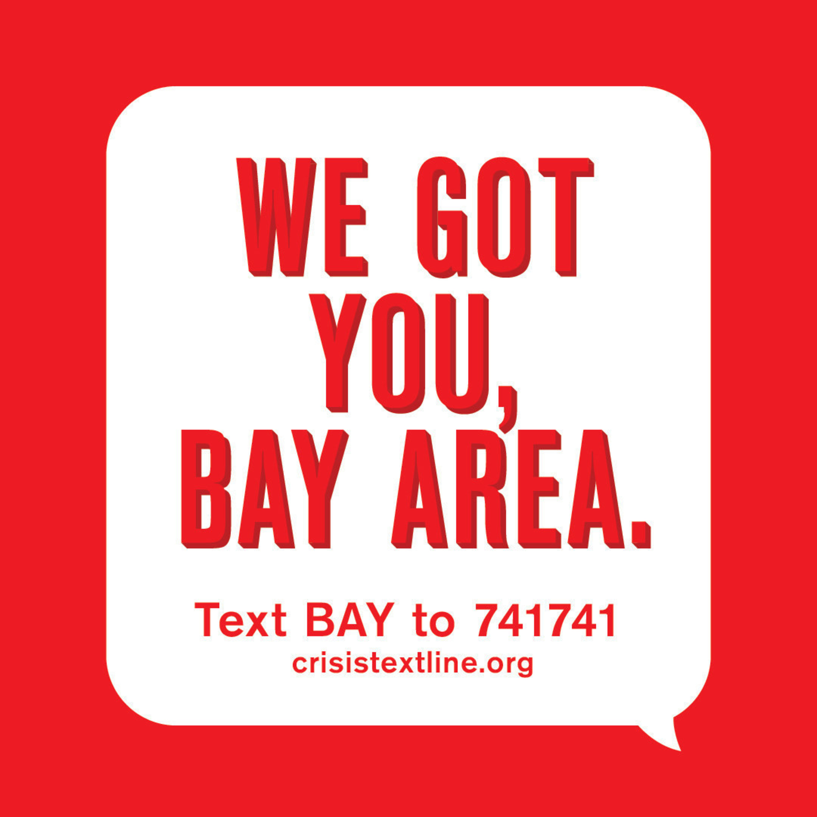 Help is a just a text away. Crisis Text Line launches an array of partnerships in the Bay Area.