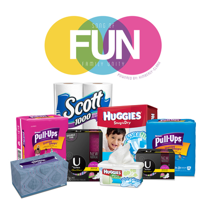 Kimberly-Clark and Christina Milian Celebrate Family 'UNity' with New FUN Program (PRNewsFoto/Kimberly-Clark Corp.)