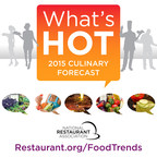 What food trends are coming to a menu near you? (PRNewsFoto/National Restaurant Association)