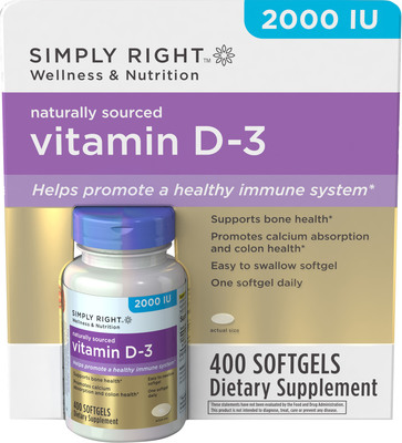 Sam's Club Simply Right Vitamins.  (PRNewsFoto/Sam's Club)