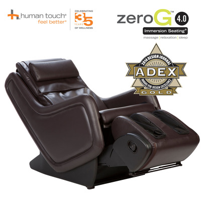 Human Touch(R), the U.S. market leader of innovative massage chairs, Perfect Chair(R) recliners, and other wellness solutions, has been honored with six 2014 ADEX Awards for design excellence. (PRNewsFoto/Human Touch)