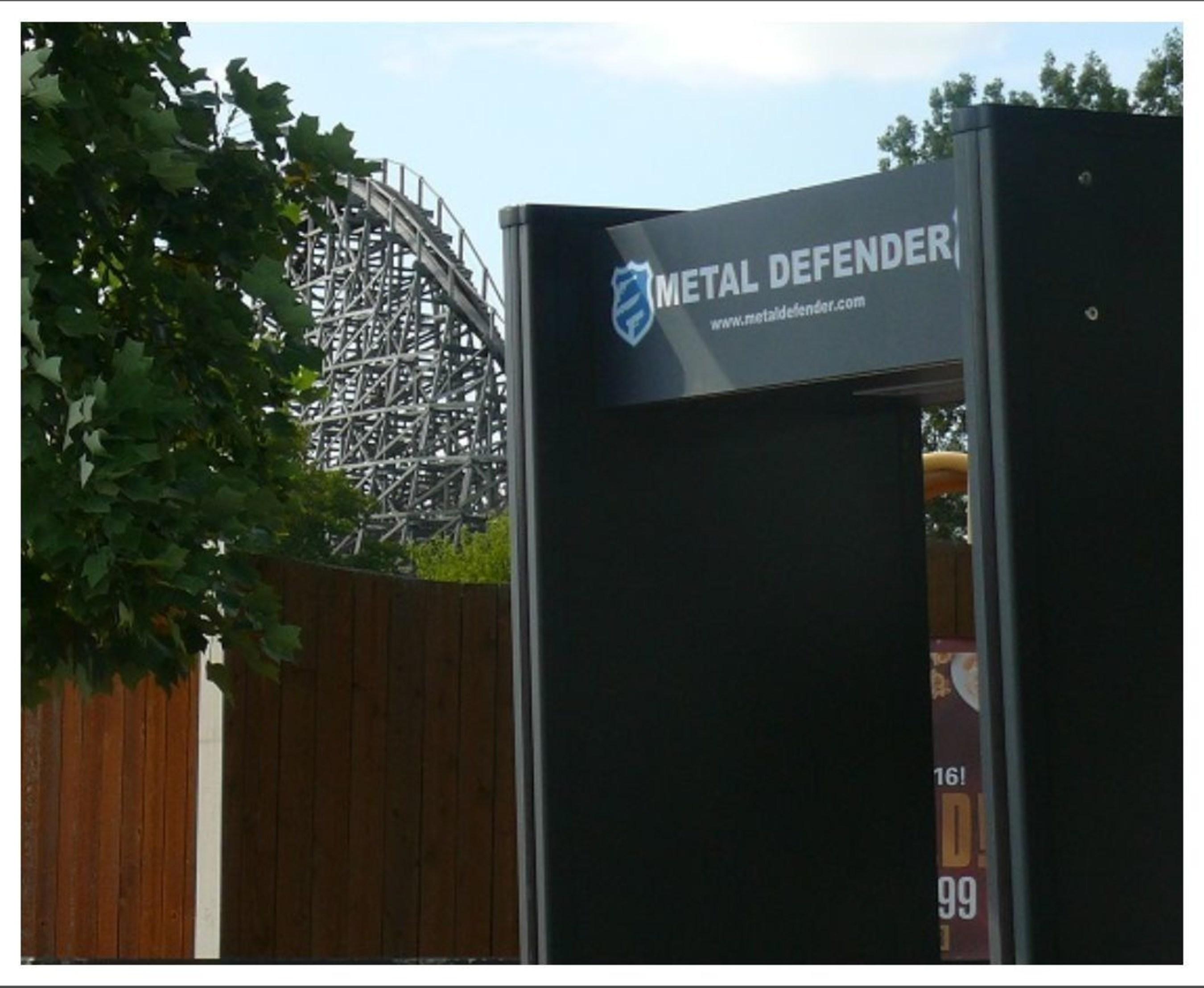 Metal Defender Walk Through Metal Detectors Deployed at Six Flags