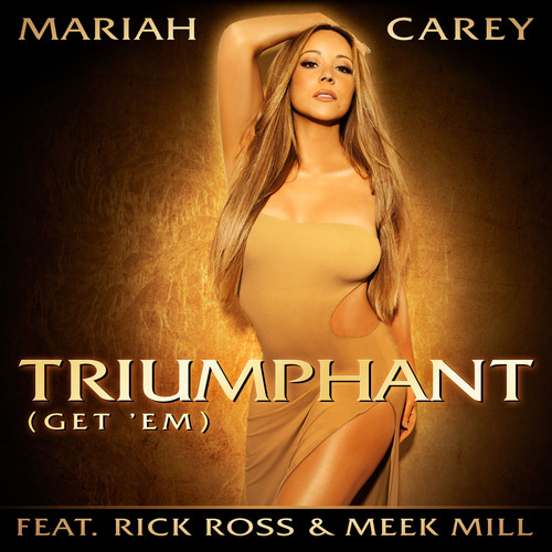 "Mariah Carey Returns with ""Triumphant"" feat. Rick Ross and Meek Mill.  (PRNewsFoto/The Island Def Jam ..."