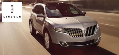The luxurious character of the 2014 Lincoln MKX brings classic SUV style into a new age of modern comfort. (PRNewsFoto/Mike Castrucci of Alexandria)