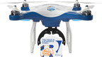 The Crave Copter, White Castle's branded drone.