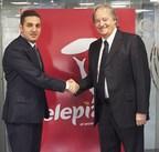 Chairman of Momenin Investment Group (MIG)and Giorgio Minardi Telepizza (PRNewsFoto/Telepizza)