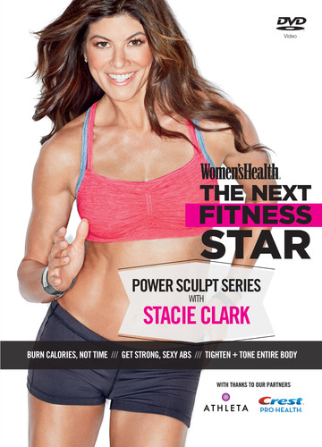 Women's Health's NEXT FITNESS STAR POWER SCULPT DVD SERIES - http://www.dvd.thenextfitnessstar.com/pr. (PRNewsFoto/Women's Health Magazine) (PRNewsFoto/WOMEN'S HEALTH MAGAZINE)