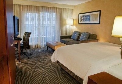 The Courtyard Seattle Bellevue/Downtown has received a 2014 TripAdvisor Certificate of Excellence from TripAdvisor for maintaining an overall rating of four or higher on a scale of five as ranked by travelers. Guests praised the hotel near Seattle and for its location, amenities and more. For information, visit www.marriott.com/BVUDT or call 1-425-454-5888. (PRNewsFoto/Courtyard Seattle Bellevue/Downt)