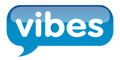 Vibes logo. (PRNewsFoto/Vibes)