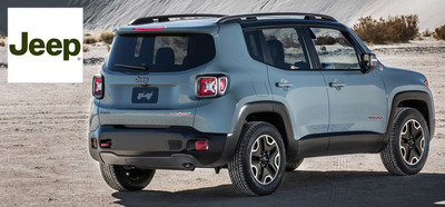 The 2015 Jeep Renegade is a highly-anticipated model at Palmen Dodge Chrysler Jeep of Racine, Wis. (PRNewsFoto/Palmen Dodge Chrysler Jeep)