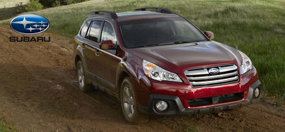 The 2014 Subaru Outback was rated as a Top Safety Pick+ by the Insurance Institute for Highway Safety.  (PRNewsFoto/Briggs Auto Group)