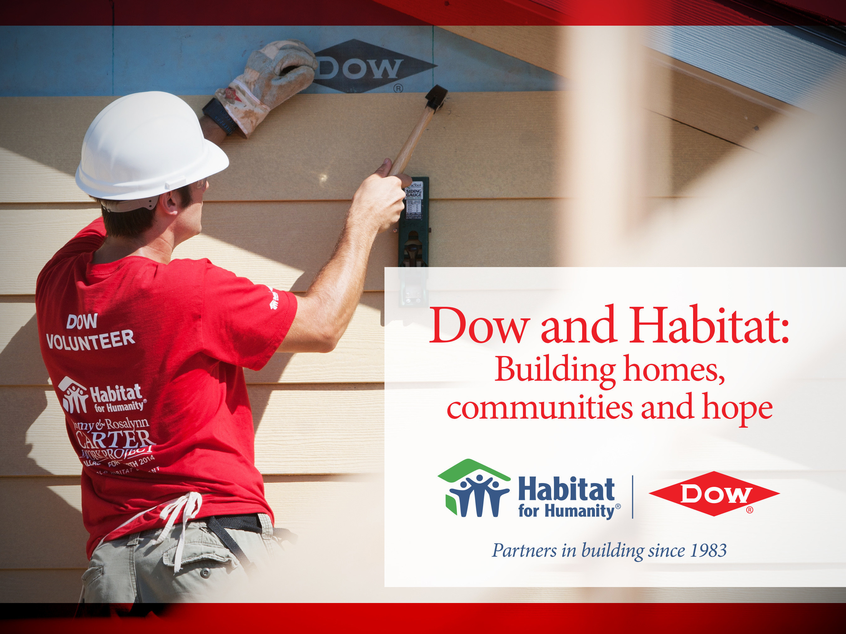 Dow and Habitat: Building homes, communities and hope