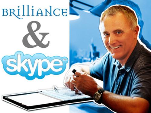 Skype With An Expert.  (PRNewsFoto/Brilliance.com)