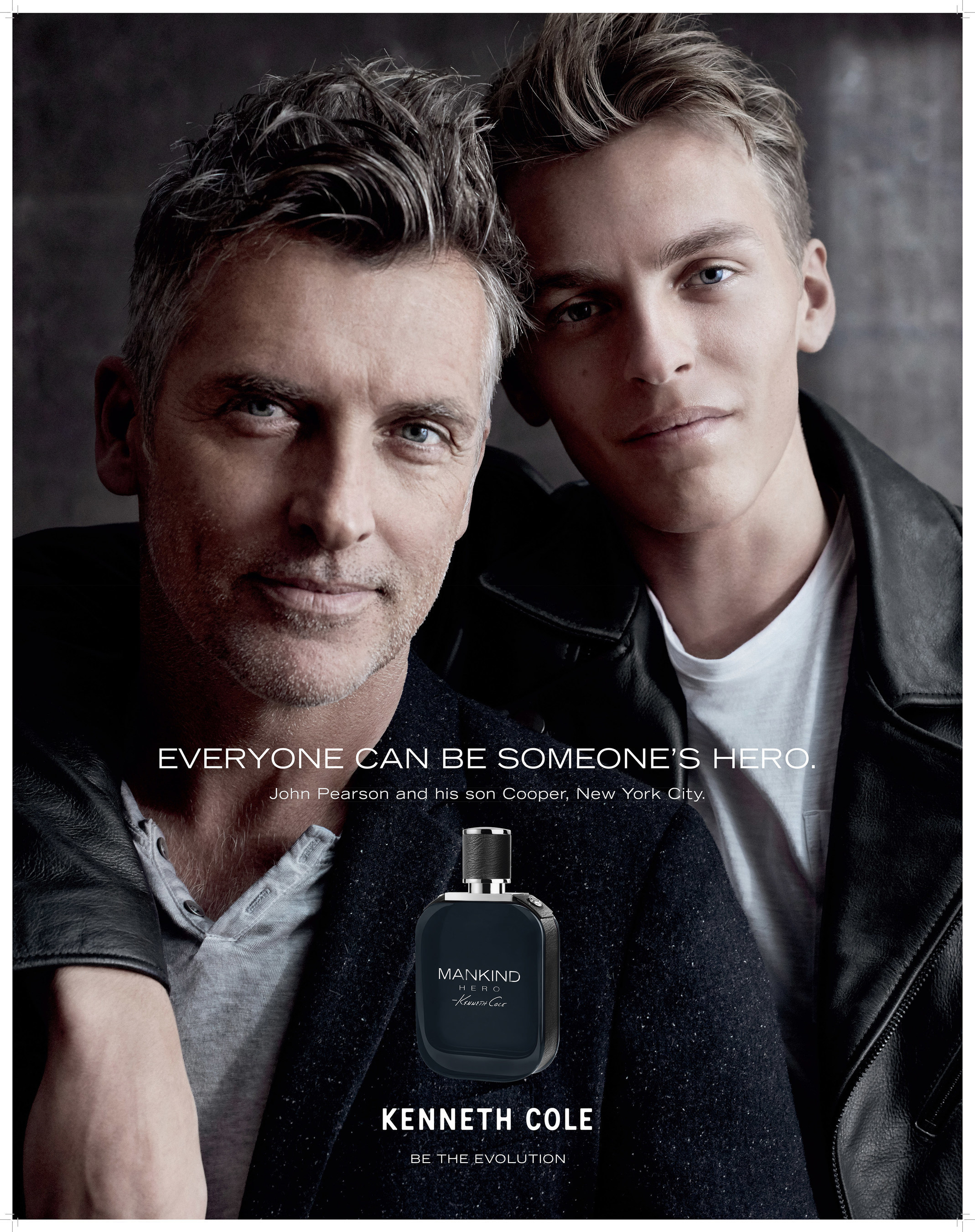 KENNETH COLE ANNOUNCES NEW MANKIND HERO FRAGRANCE