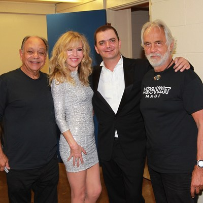 Cheech & Chong Perform to Packed Crowd on Maui, Brian Evans Opens