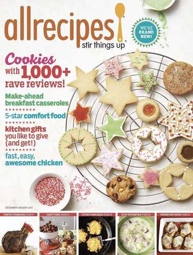 The December 2013 issue of Allrecipes magazine. (PRNewsFoto/Meredith Corporation) (PRNewsFoto/MEREDITH ...