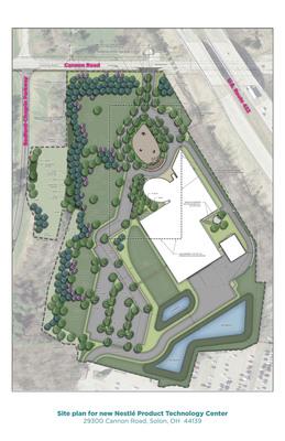 Site plan for new Nestle Product Technology Center.   (PRNewsFoto/Nestle USA)