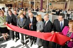 US Senator Jeanne Shaheen and NH Governor Maggie Hassan join Comcast officials to celebrate the grand opening of the company's newest call center in Hudson, NH.