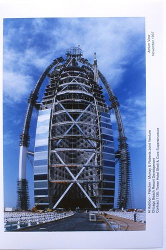 Burj Al Arab on 1 December 1997 (PRNewsFoto/Burj Al Arab)