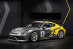 New Porsche Cayman GT4 Clubsport for the racetrack
