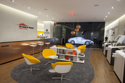 "Porsche launches ""The Sound of Porsche"" - A three-week, multisensory pop up in Manhattan (PRNewsFoto/Porsche Cars North America, Inc.)"