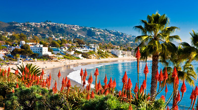 Laguna Beach - OC's #1 beach.  (PRNewsFoto/Laguna Beach Visitors & Conference Bureau)