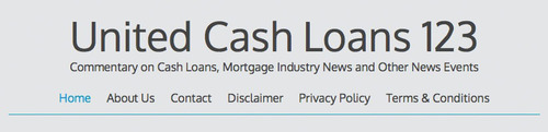 United Cash Loans 123 Explains Current State of US Economy Dependent on Point of View.  (PRNewsFoto/United Cash Loans)
