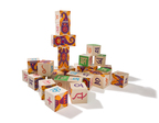 New Hindi ABC Blocks from Uncle Goose are available now at UncleGoose.com. (PRNewsFoto/Uncle Goose)