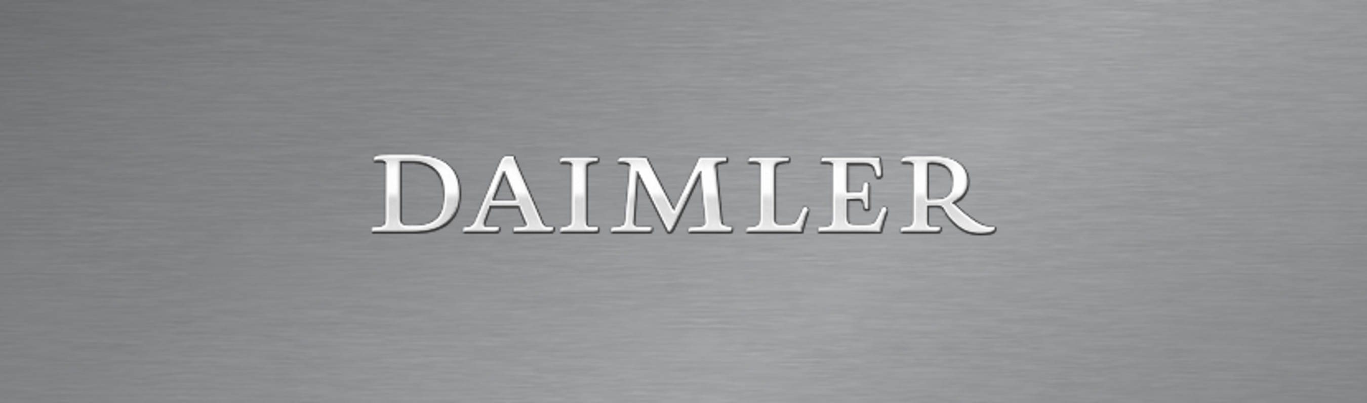 Daimler Logo (PRNewsFoto/Daimler Corporate Communications)