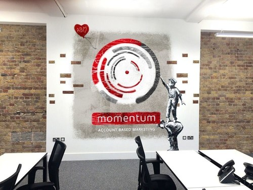 Momentum ABM, Grows its European Footprint - Today Momentum the B2B Account Based Marketing Agency, announces the opening of its New Relocated Office in London and that it is opening New Offices in France and Germany. (PRNewsFoto/Momentum ABM Ltd)