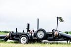In addition to flow meter monitoring, Select also developed a specialized flow meter trailer to ensure safe deployment in the field.