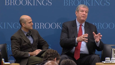 Dr.Farzad Mostashari, Visiting Fellow, Engelberg Center for Health Care Reform, Brookings Institution and Mark Wagar, President of Heritage Medical Systems discuss payment reform. (PRNewsFoto/Heritage Provider Network, Inc.) (PRNewsFoto/HERITAGE PROVIDER NETWORK, INC.)
