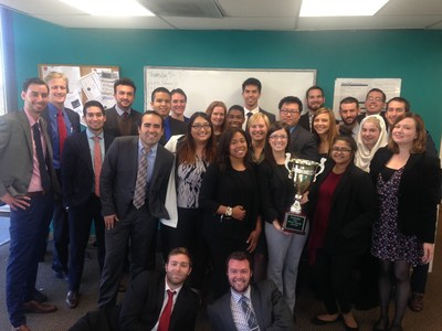 The team at M Marketing, led by president Kate McGree, earned Campaign Cup honors for third quarter results.
