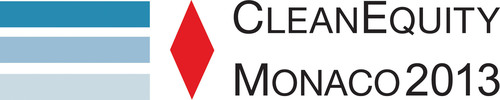 CleanEquity Monaco 2013, March 7-8.  (PRNewsFoto/CleanEquity)