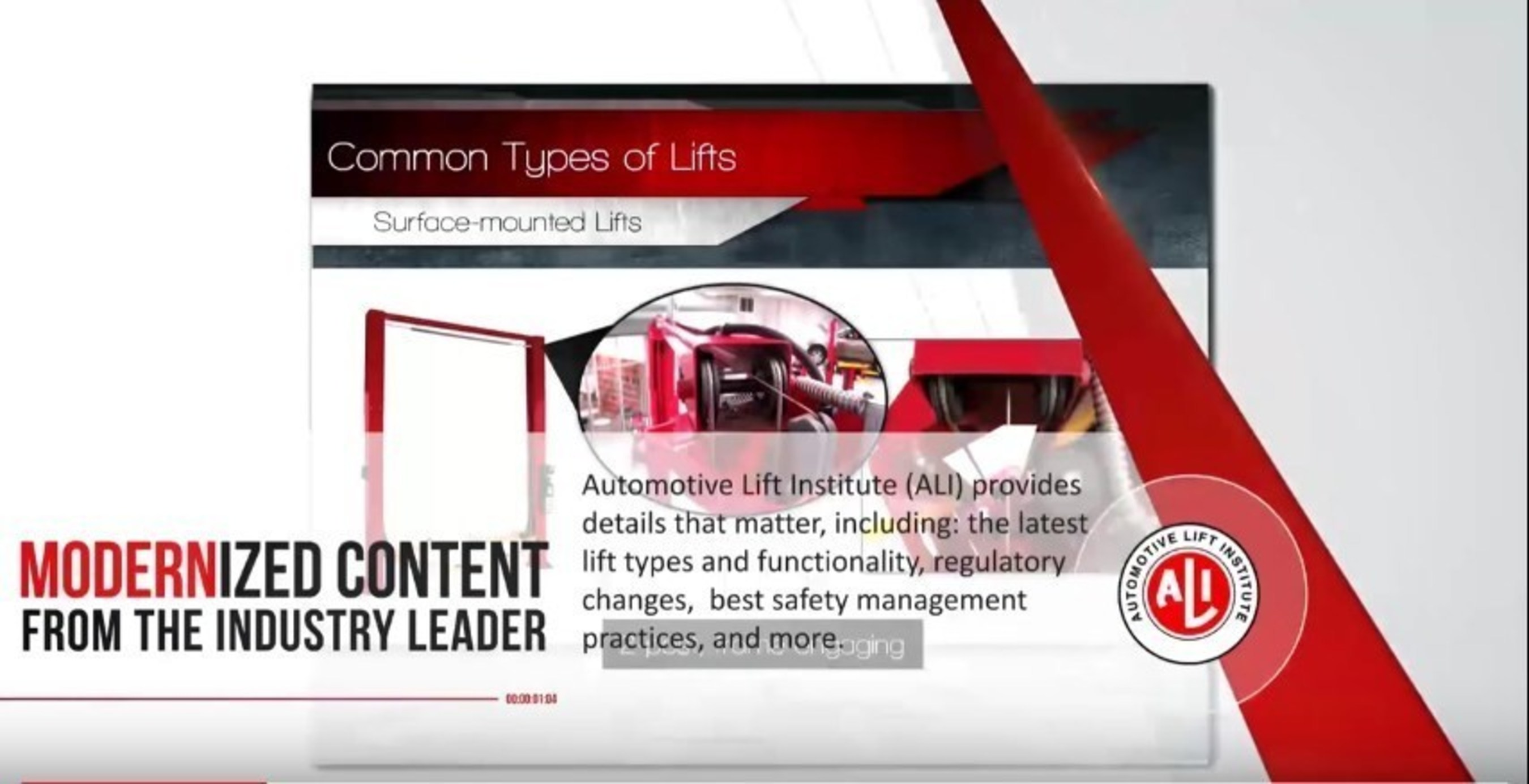 ALI Lowers Price of Lifting It Right Online Lift Safety Training Course