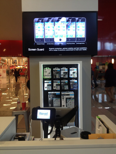 Retail POS on the Apple iPad and Apple iTouch for a display unit.  (PRNewsFoto/Revel Systems)