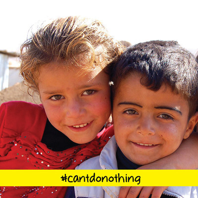 Announcing The Launch Of #CantDoNothing, A Campaign To Help Solve The Global Refugee Crisis