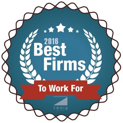 2016 Best Firms to Work For Award