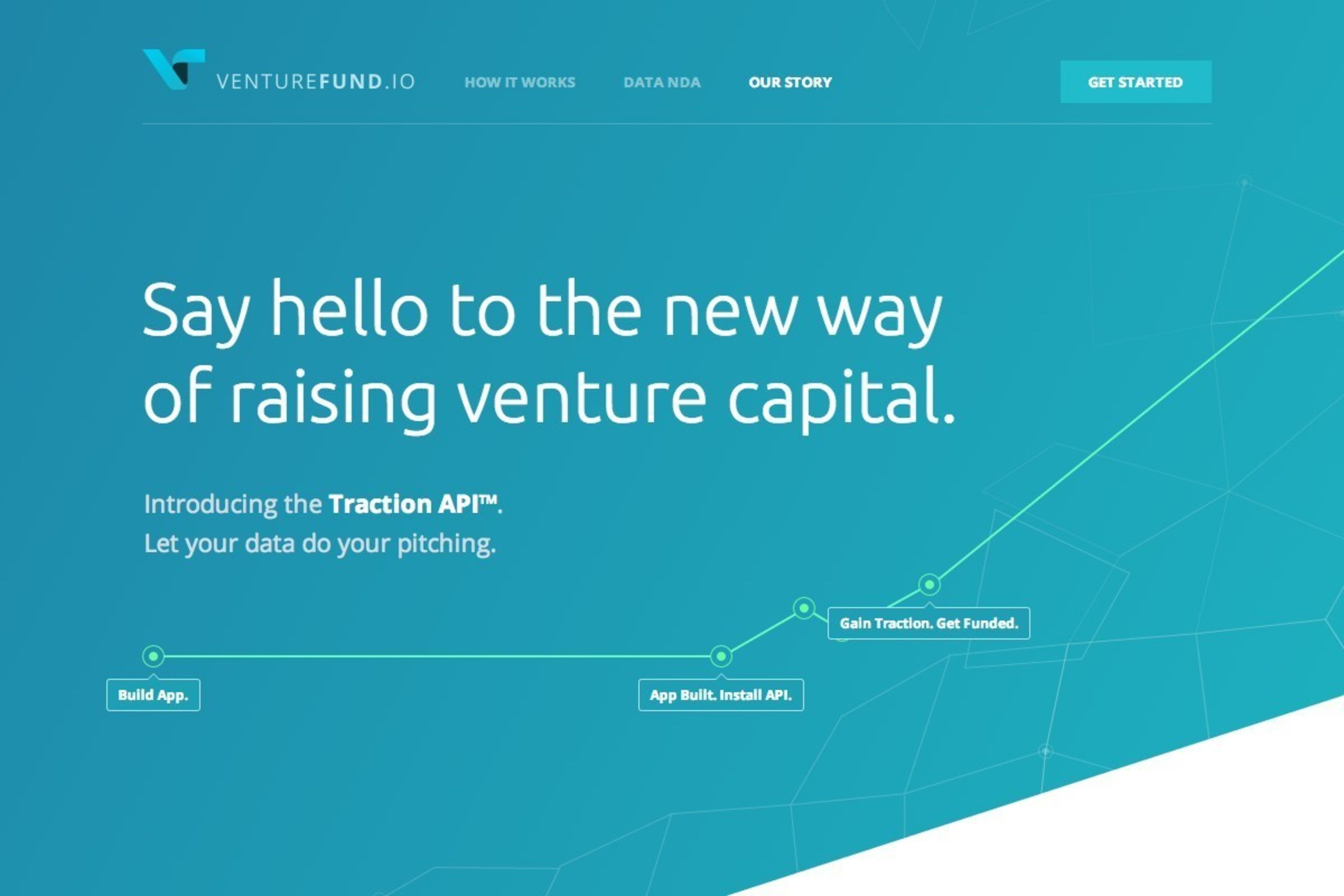 VentureFund.io's Traction API(TM) and accompanying platform provides early stage startup founders with free insights, guidance, and tools to better understand and drive the traction that's needed to attract investment. VentureFund.io is a traction-focused software platform and early stage venture capital fund lead by a diverse group of serial entrepreneurs and investors who love building startups.