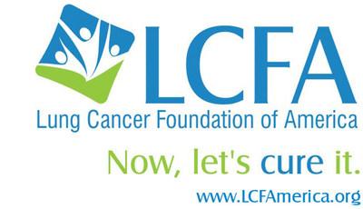 Lung Cancer Foundation of America logo (PRNewsFoto/LCFA)